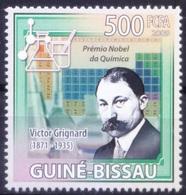 Nobel Chemistry Winner French Chemist Victor Grignard, Guinea Bissau 2009 MNH  ( - Nobelpreisträger