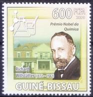 Nobel Chemistry Winner German Chemist Richard Willstatter, Guinea Bissau 2009 MNH     ( - Nobelpreisträger
