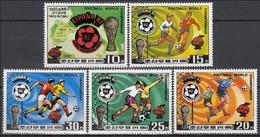 COREA DEL NORTE 1982 - NORTH KOREA - CAMPEONATO DEL MUNDO DE FUTBOL ESPAÑA-82 - YVERT Nº 1643/1647** - 1982 – Espagne