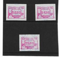 België Automaatzegels N° 83 - Machines à Affranchir