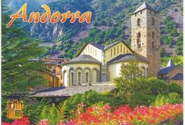 Esglesias De Sant Esteve D'Andorra La Vella (XIII Ième Siècle). Carte Poste Neuve, Non Circulée - Andorra