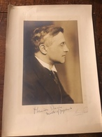 1929 -1934 YUGOSLAVIA, USA, DR LEONIDA PITANIC, YUGOSLAV AMBASSADOR TO WASHINGTON, 24x34cm WITH PASS PART TOO - Identified Persons