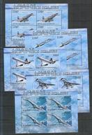 Burundi ** Flugzeuge , Concorde + Tupolev ( Kleinbogensatz 2012 ) - Flugzeuge