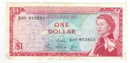 East Caribbean States , 1 Dollar. XF. - East Carribeans