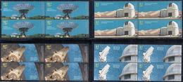 Argentina - 2009 - Observatoires Astronomiques - Espace - Astronomie - Yvert 2799 / 2802 - Unused Stamps