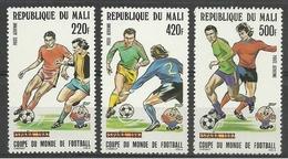 MALI 1982 - CAMPEONATO DEL MUNDO DE FUTBOL ESPAÑA-82 - YVERT Nº A 442/444** - Malí (1959-...)