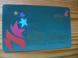 VISA Travel Money Card USA - Atlanta Olympic - Krediet Kaarten (vervaldatum Min. 10 Jaar)