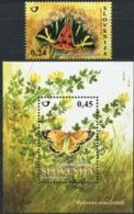SLOVENIA 2007 Butterflies Insects Animals Fauna MNH - Butterflies