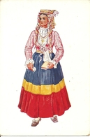 Costumi Nazionali Croati, Dalmazia, Peljesac (Sabbioncello) (Croazia) Vladimir Kirin Illustratore - Costumi