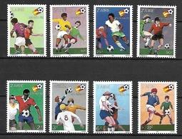 ZAIRE 1982 - CAMPEONATO DEL MUNDO DE FUTBOL ESPAÑA-82 - YVERT 1043/1050** - Fútbol