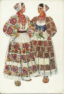 Costumi Nazionali Croati, Petrinja (Croazia) Vladimir Kirin Illustratore - Costumi