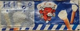 EGYPT - LA VACHE QUI RIT Cheese Label Foil Etiquette De Fromage - Käse