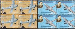 Argentina - 2001 - Aviation - Carola Lorenzini - Jean Mermoz. - Unused Stamps