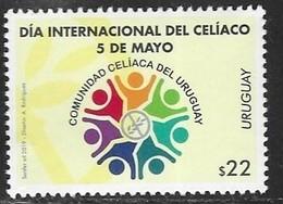 URUGUAY, 2019, MNH,INTERNATIONAL DAY OF CELIAC DISEASE, HEALTH, 1v - Health
