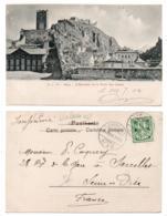 (Suisse) Valais 049, Sion, MC 219, L'Ecalier De La Tour Des Chiens, Dos Non Divisé - VS Valais