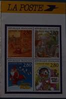 Petit Calendrier De Poche 1994 La Poste Timbres Joyeux Noël.meilleurs Voeux - Calendars