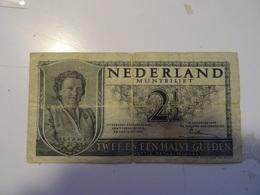 PAYS-BAS NEDERLAND 2,1/2  GULDEN 8/08/49 Numero 5 OA 087984 - [2] 1815-… : Koninkrijk Der Verenigde Nederlanden