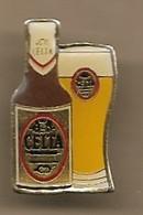 Pin's CELTA Bière Brasserie De Gayant 185 Rue Léo-Lagrange Douai (59) Arques 35B Bd De Strasbourg (62) St-Omer - Bière