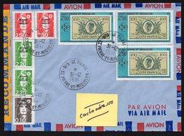 SAINT-PIERRE-ET-MIQUELON  975 Enveloppe Cover En Recommandé Saint Pierre 31 12 1991 - France