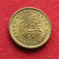 Hong Kong 5 Cents 1977 KM# 29.3  Hongkong Hong-Kong - Hong Kong