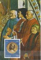 ITALIA - FDC MAXIMUM CARD 1992 - LORENZO IL MAGNIFICO - ANNULLO ROMA - Maximumkarten (MC)
