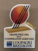 Pin's Landerneau (29) Grand Prix 1992 Coopération Agricole Coopagri De Bretagne ZI De Lanrinou - Villes