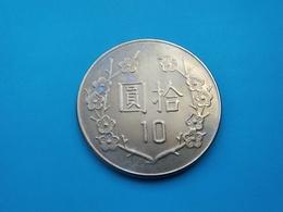 CHINE  TAIWAN  10 Yuan  1981  -- SUP --    CHINA - Taiwán