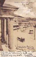 Triest (Triest) * Piazza Della Borsa, Teilansicht * Italien * AK021 - Trieste
