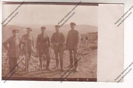 CP : Soldats Allemands Sur Front (Landwehr Inf Rgt 9 Komp 9- 35e Reserve Div) Tampon Aus Militariseken Gründen Verzögert - Oorlog 1914-18