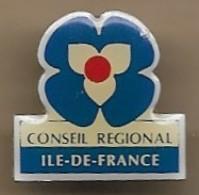 Pin's Conseil Régional île-de-France - Administrations