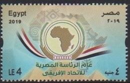 EGYPT, 2019, MNH, AFRICAN UNION, EGYPTIAN PRESIDENCY OF AFRICAN UNION,   1v - Organizaciones