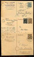 All.Besetzung / 3 Postkarten O (23760) - American,British And Russian Zone