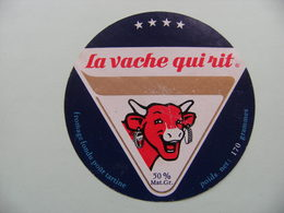 Etiquette Fromage Fondu - Vache Qui Rit - Portion Bel 170g   A Voir ! - Käse