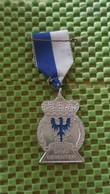 Medaille :Netherlands  - .1949-1969 Davo Deventer    / Vintage Medal - Walking Association - Nederland