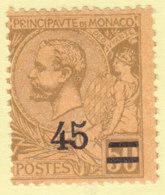 Monaco,n° 70b ** MNH - Ungebraucht