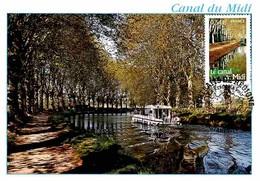 YT 4023 - Canal Du Midi - Carte Maximum 2007 - Cartas Máxima