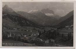 Dolomiti, Val Di Fiemme, Soraga (Trento): Città Vecchia. Formato Piccolo Viaggiata 1951 - Trento