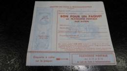 Franchise Militaire Bon Pour Paquet En Franchise Postale N°16 Neuf - Franchise Stamps