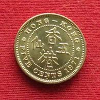 Hong Kong 5 Cents 1971 H KM# 29.3  Hongkong Hong-Kong - Hongkong