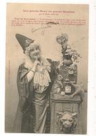 BERGERET Aux Grands Maux Les Grands Remèdes - Femme Photo Fantaisie  Lapin Dos Simple - Autres
