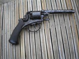 Beau Ancien Revolver XIX E Percussion - Armes Neutralisées