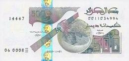 ALGERIA 500 DINARS 2018 (2019) P-NEW UNC  [DZ410a] - Algeria