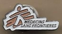 Pin's Médecins Sans Frontières MSF 8rue Saint-Sabin Paris 11e (rue De Lausanne 78 Genève) - Médical