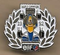 Pin's World Champion 1992 Elf F1 Formule 1 - F1