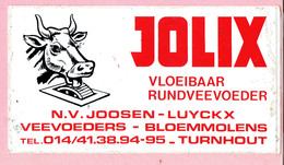 Sticker - JOLIX - N.V. JOOSEN LUYCKX - Veevoeders - Bloemmolens Turnhout - Autocollants