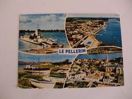 Postcard Postal France Loire Atlantique Le Pellerin Le Bac Reliant Des Deux Rives De La Loire - Francia