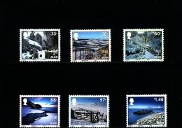 ISLE OF MAN - 2010  WINTER LANDSCAPES  SET  MINT NH - Isola Di Man
