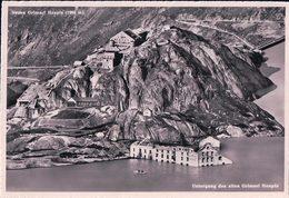 Barrage Du Grimsel, Nouveau Et Ancien Hospice Du Grimsel (5034) 10x15 - BE Berne