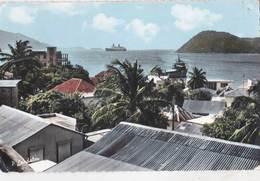 CPSM Les Saintes Terre De Haut (Guadeloupe) Au Loin Le Paquebot France  Cachet Porte Avions Arromanches 1971 - Other