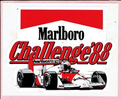Sticker - Marlboro - Challenge '88 - Autocollants